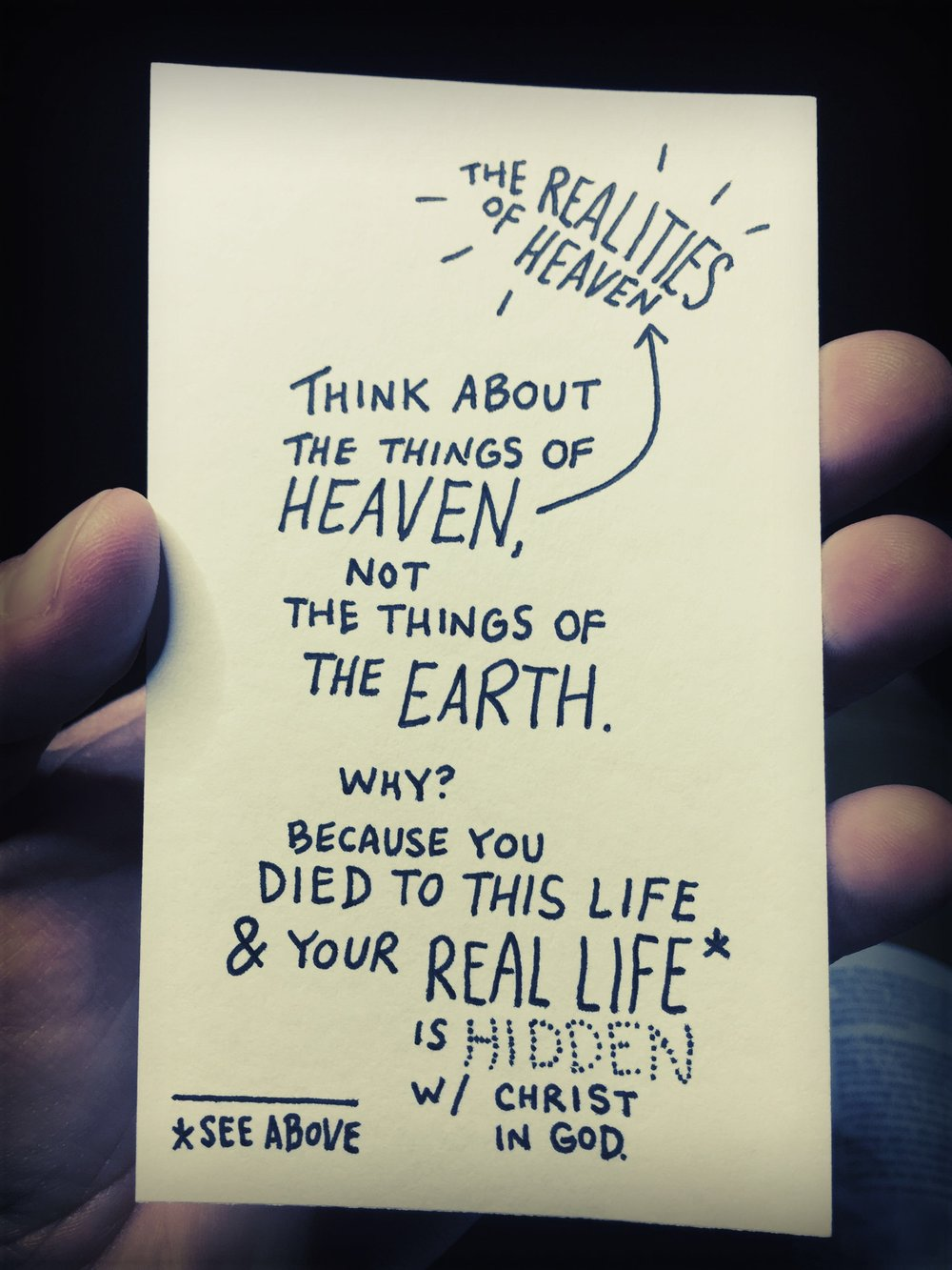 Realities of heaven