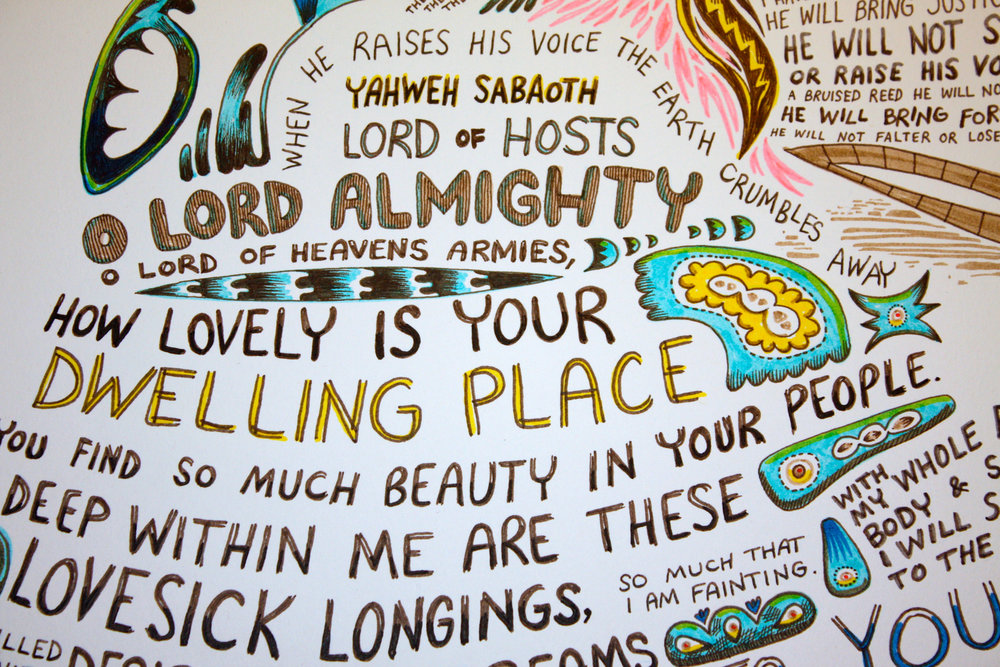 How lovely is your dwelling place!