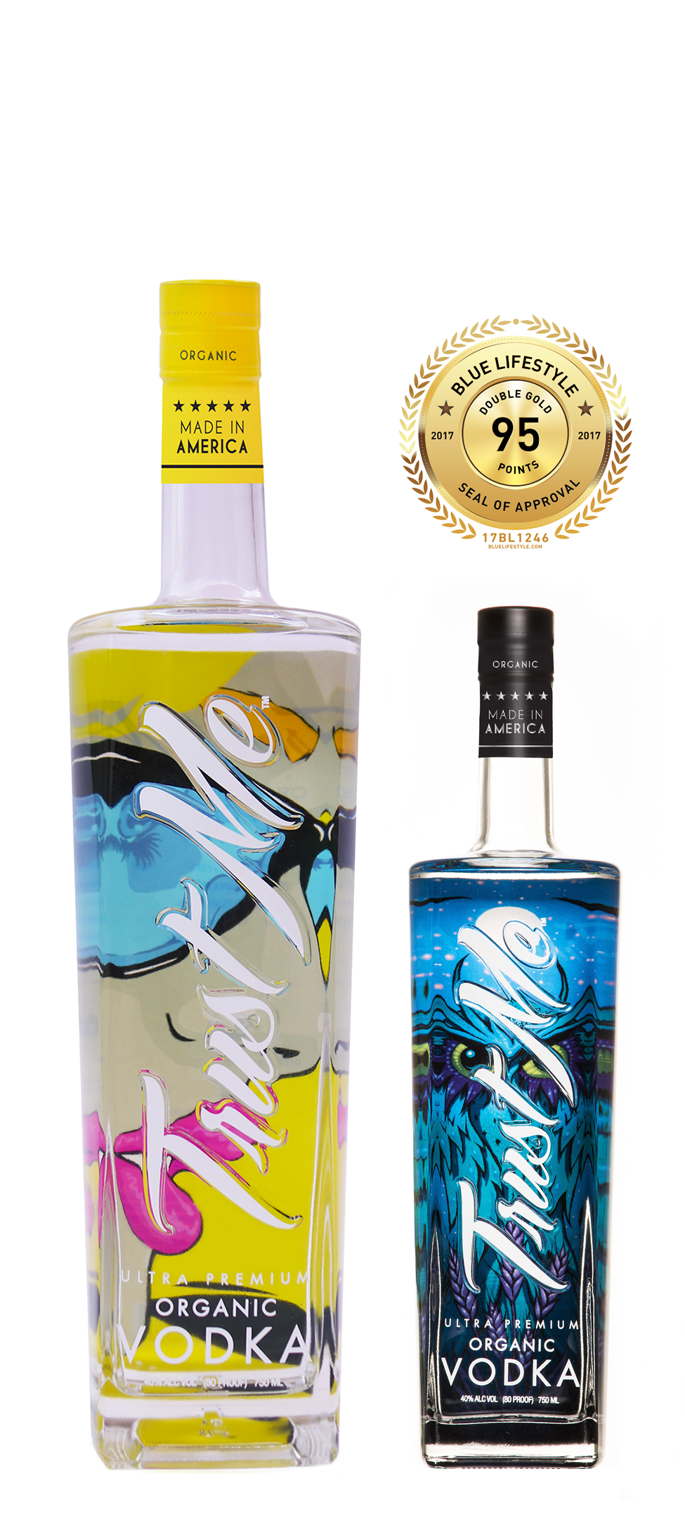 Trust Me Vodka Certified Organic Vodka