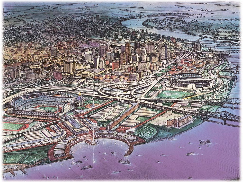 Cincinnati used to think it could host the Olympics, now we want to stay in the lower divisions?