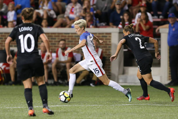 Rapinoe doing what she does best at Nippert Stadium