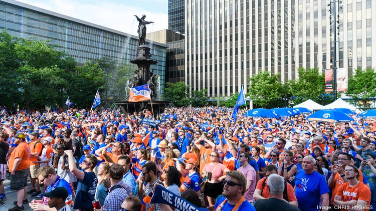 Imagine a playoff run at Fountain Square