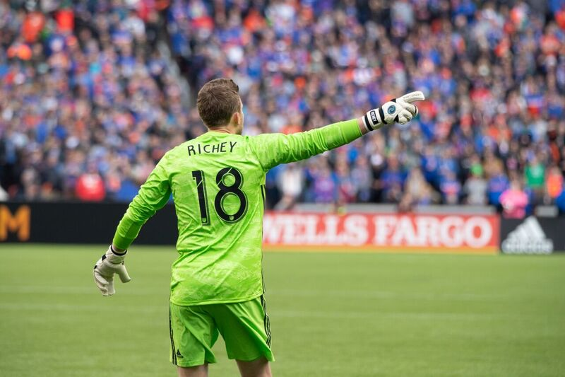 """I would lose it if we chanted """"Milk First"""" after big saves. You would too. Photo: The Pride's Gabe Aragon"""