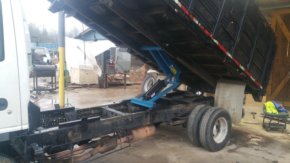 Truck Dump Bed Hoist