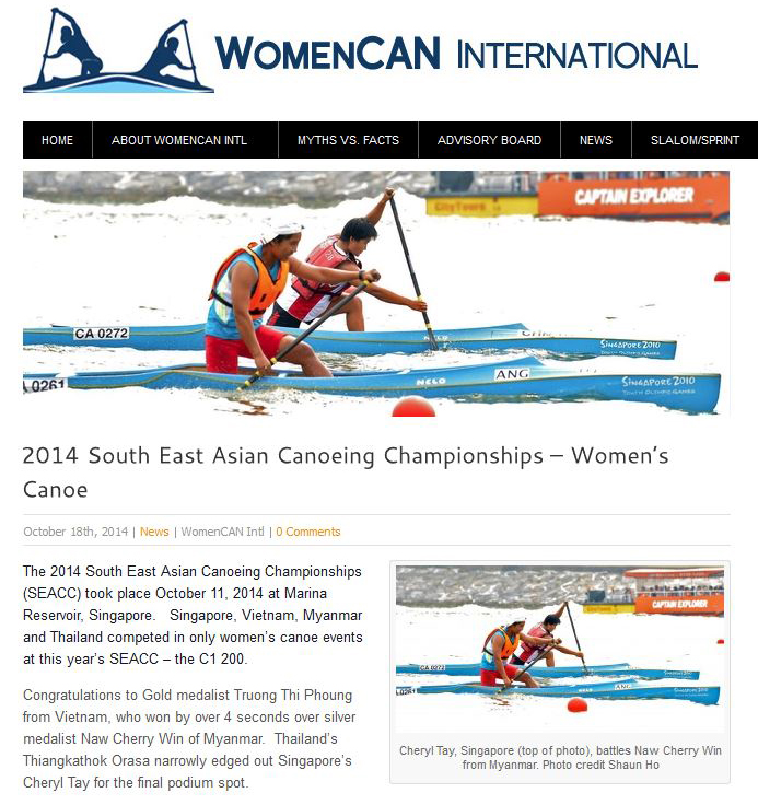 Women Canoe International