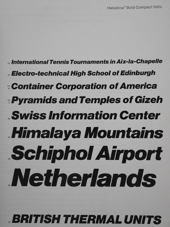 Helvetica Bold Compact Italic