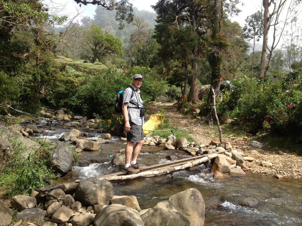 El Pianista Trail on the edge of Boquete