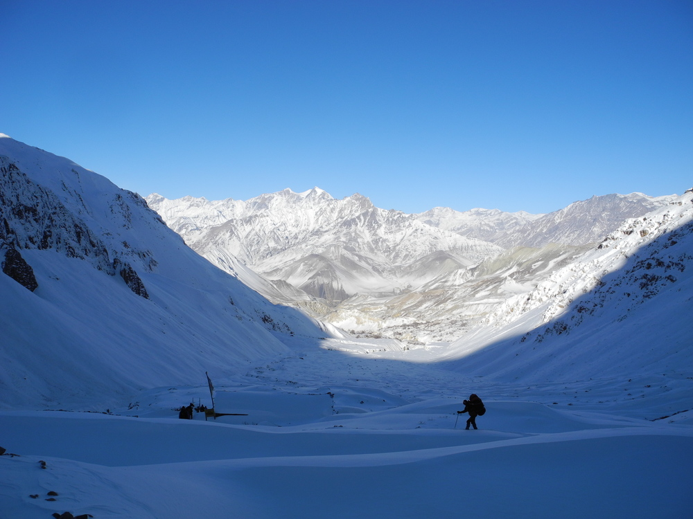 The Annapurna Circuit in January.