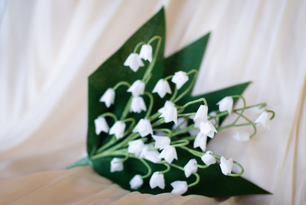 Lily of the Valley Bridal Posy