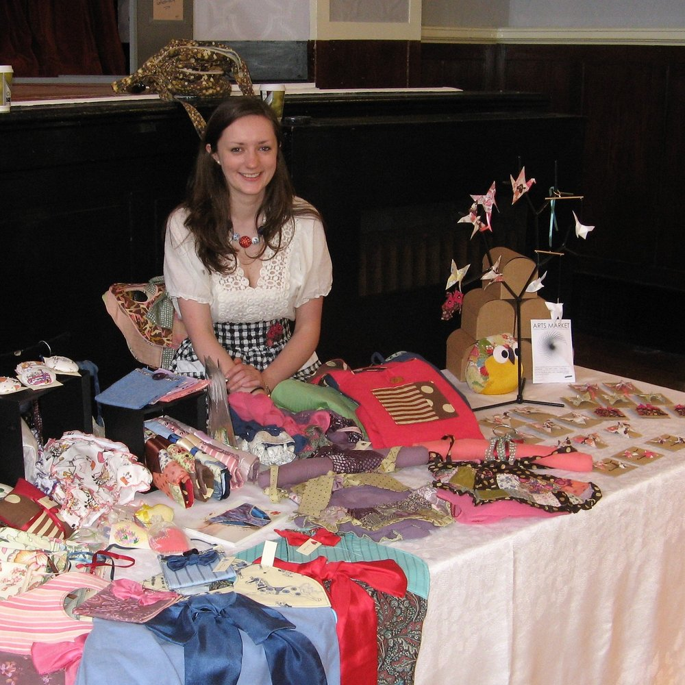The first Market I ever did. My cousin drove me to Portobello, a part of Edinburgh I had never been before. A place I now call home. I shared a stall with Little Sister Lucy with whom I work with at Mandors. Meanwhile Lucy manned our stall at the Drill Hall Arts Market.