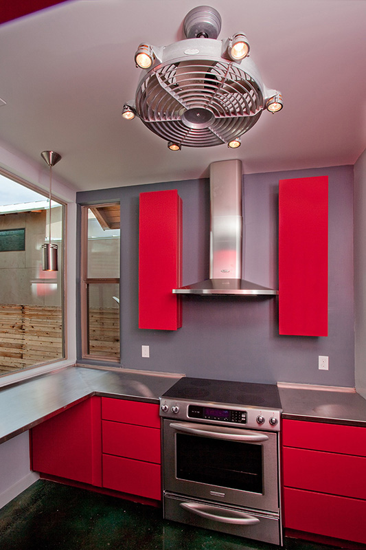 Kitchen, Devine Street Residence, San Antonio, Texas, 2009.