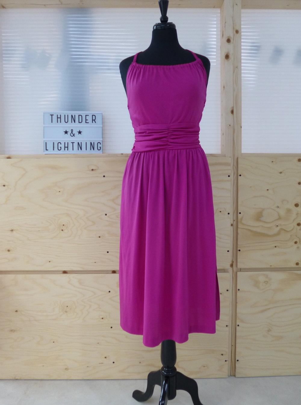 Magenta Jersey Dress Size 12