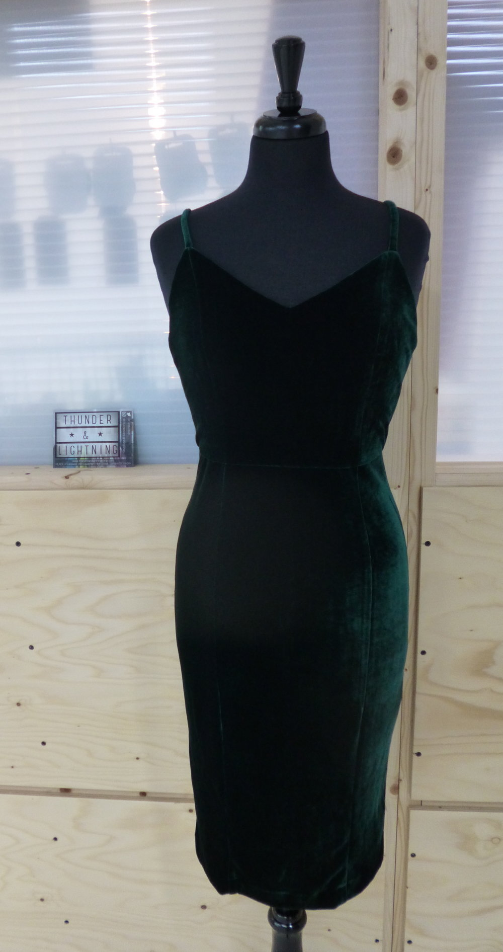 Collectif Ella Velvet Dress