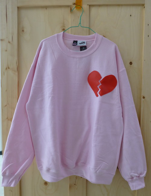And for you anti-valentines peeps out theres the heart breaker sweat from Syd & Mallory £34