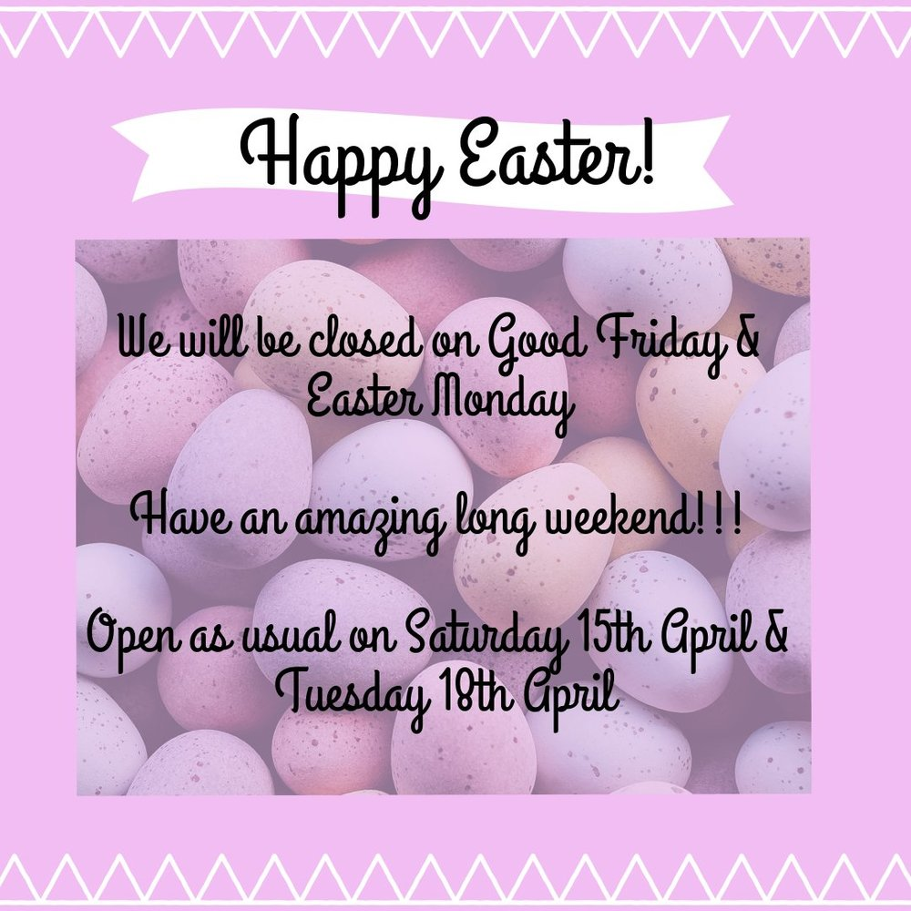 Easter opening times 2017