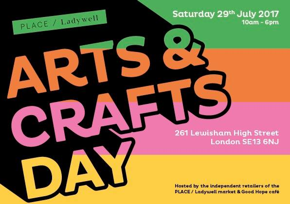 Arts and Crafts Day @ PLACE / Ladywell