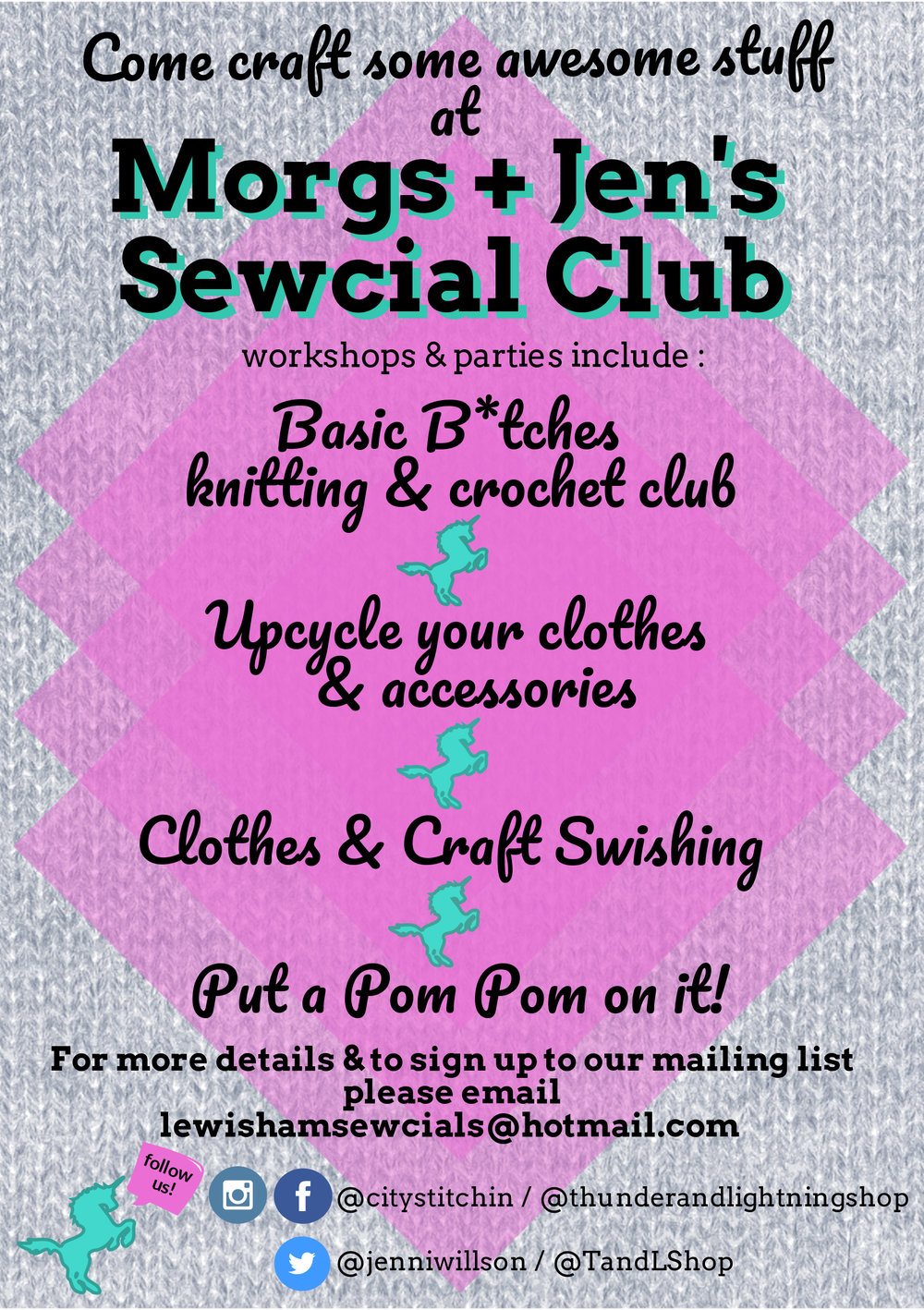 Morgs & Jen's Sewcial Club