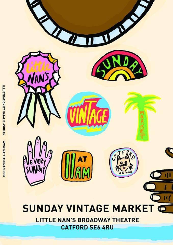 little nans sunday market