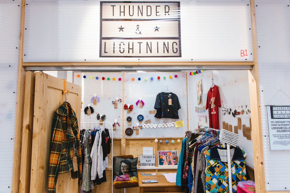 Thunder & Lightning Shop Front