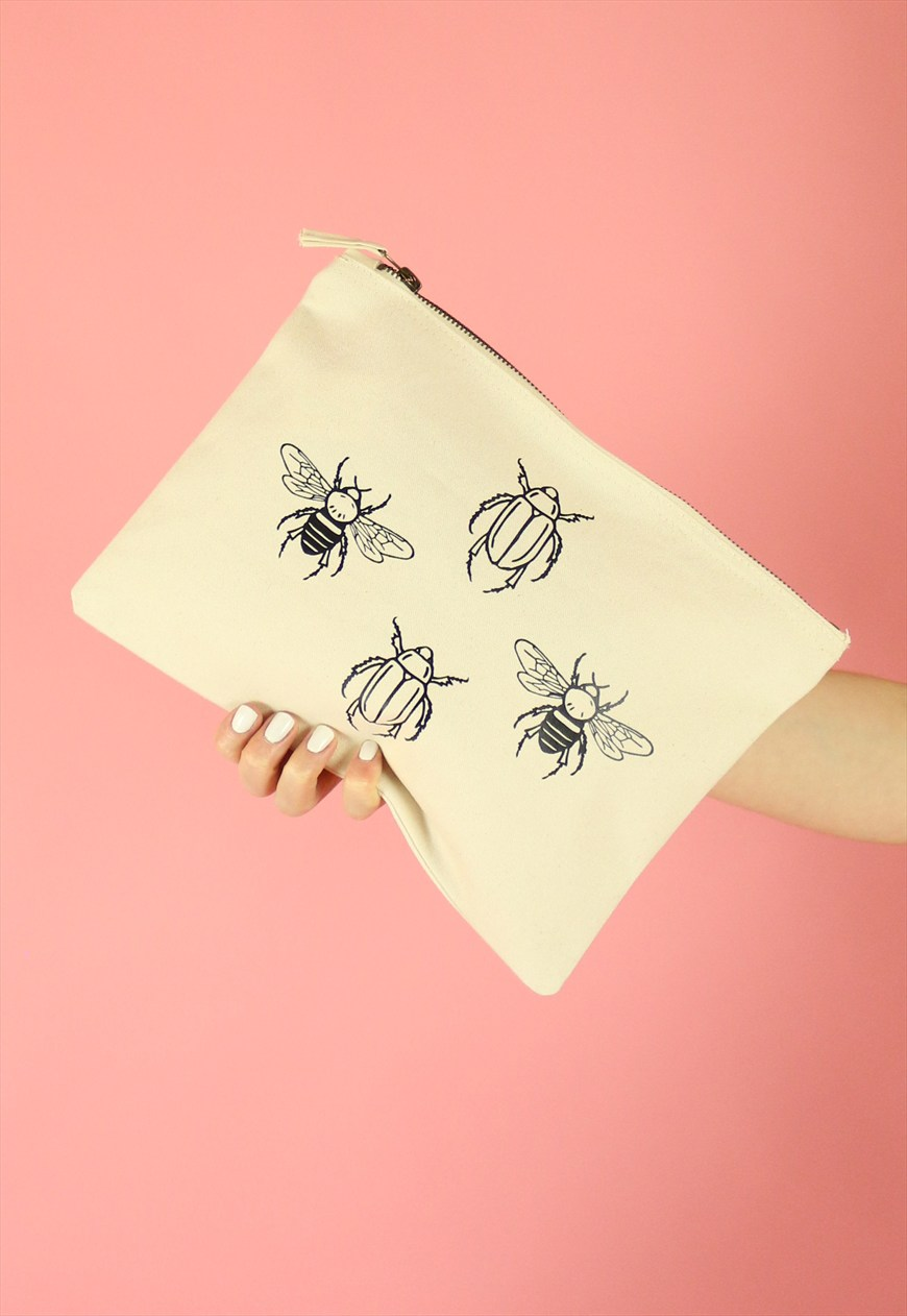Bee & Beetle Clutch