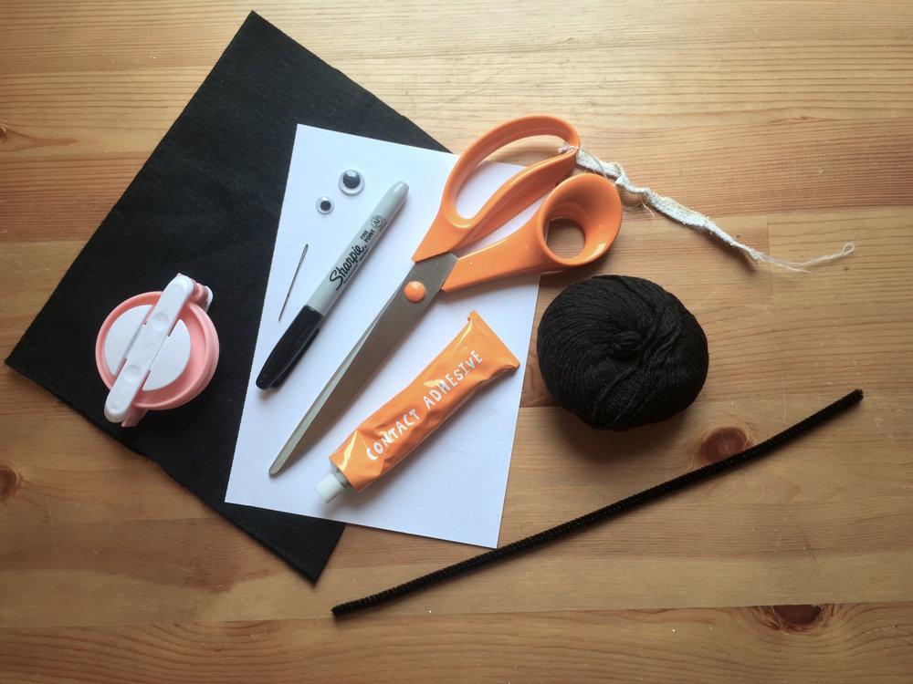 Bat DIY Materials