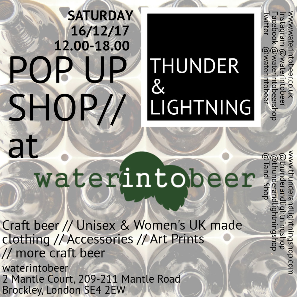 4th pop up thunder and lightning @ waterintobeer