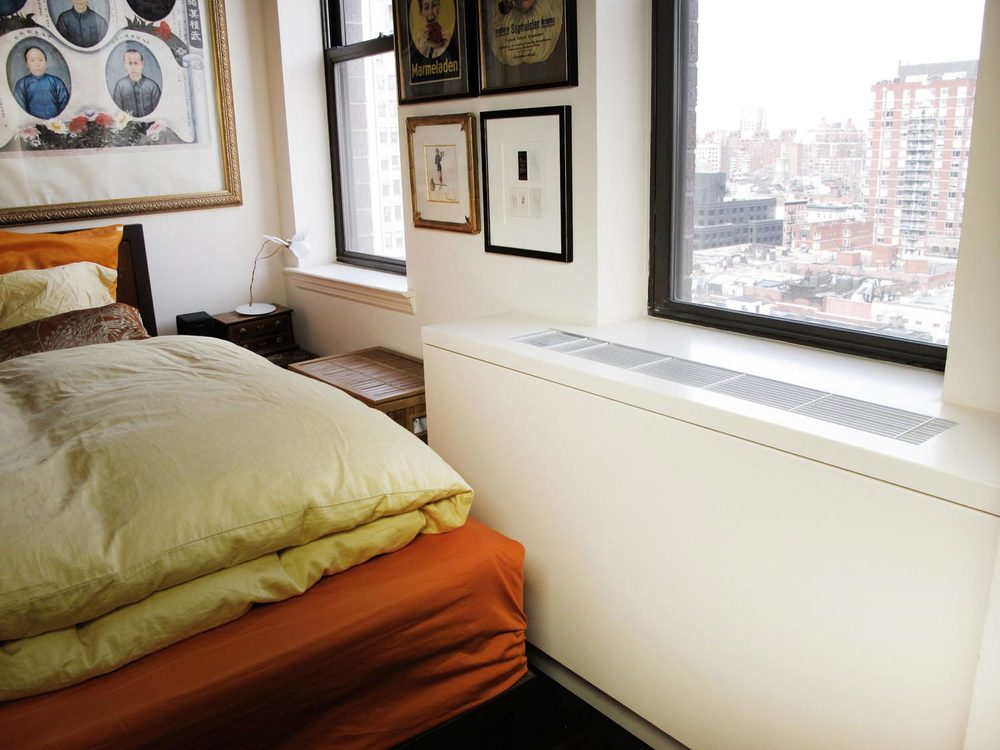 Custom HVAC cover for a bedroom. Custom Radiator Covers   NYC   HVAC Enclosures   Urban Homecraft