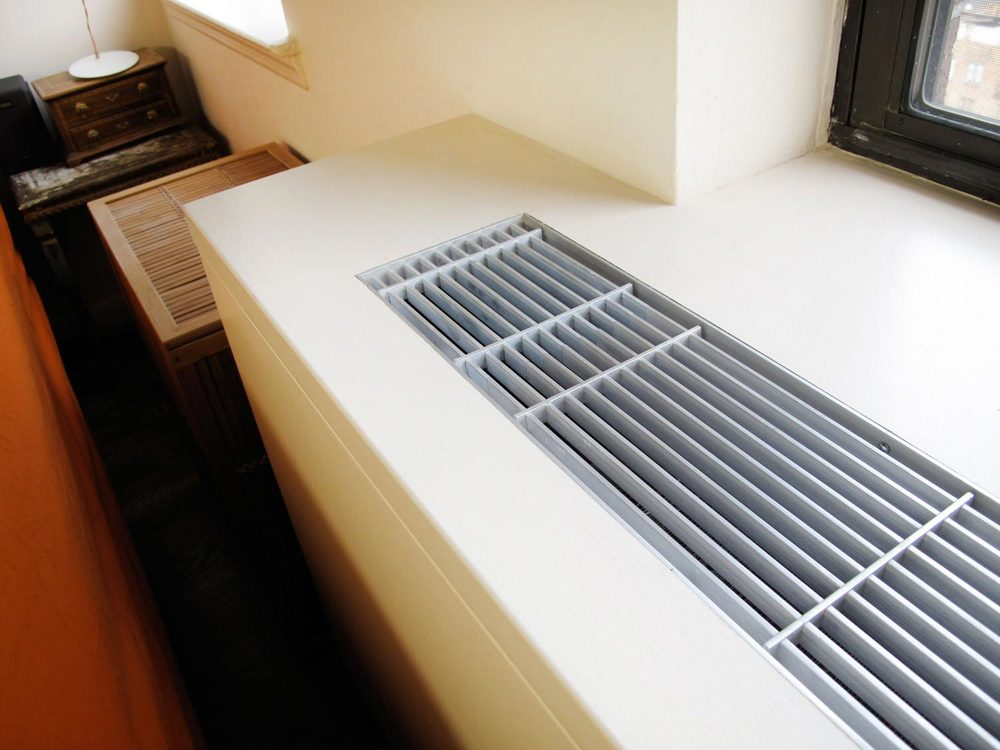we concealed the unsightly hvac units for this apartment with custom