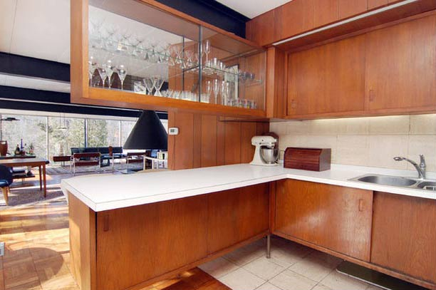 Midcentury Kitchen - Photo by Arnold Ziffel