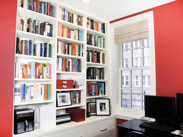 Custom Bookshelves With Ladders Nyc Urban Homecraft