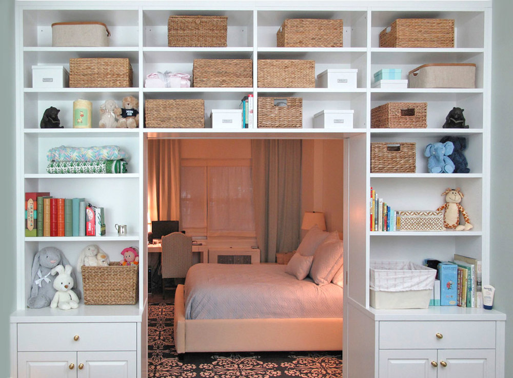 Custom Bookshelves With Ladders Nyc Urban Homecraft