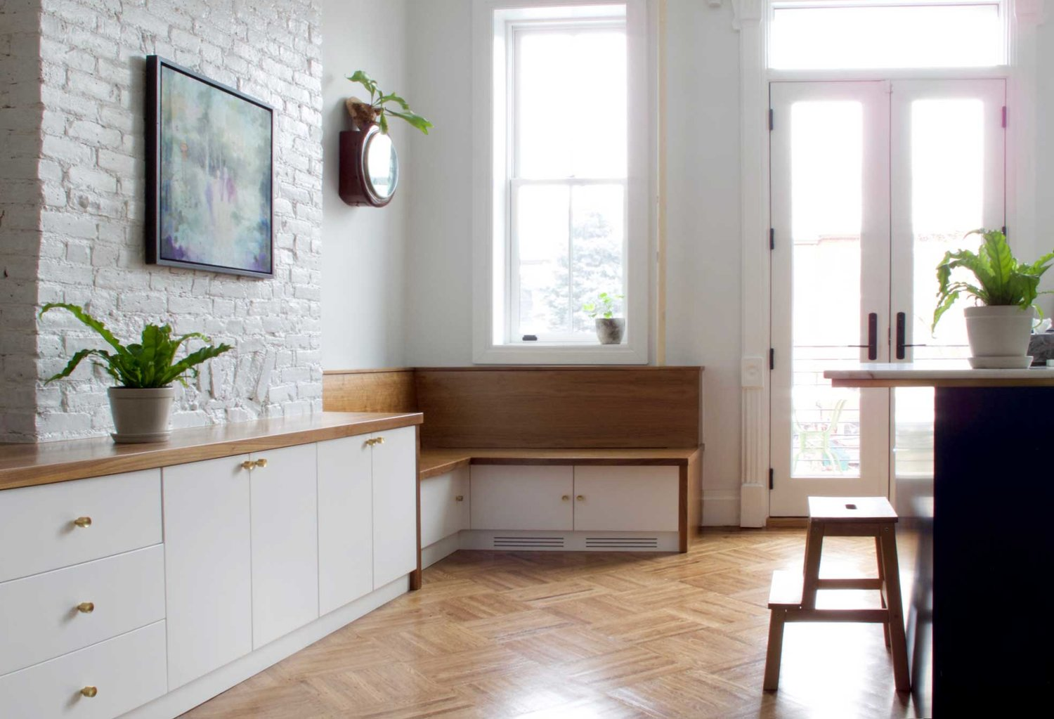 Custom Window Seat Benches And Builtin Daybeds NYC Urban - Window seats