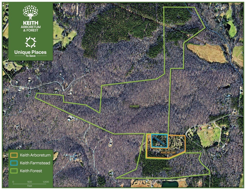 PROPERTY MAP FOR KEITH ARBORETUM & FOREST - CLICK TO DOWNLOAD