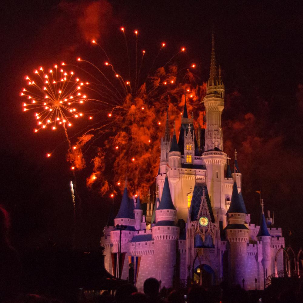 有一个城堡叫迪斯尼的