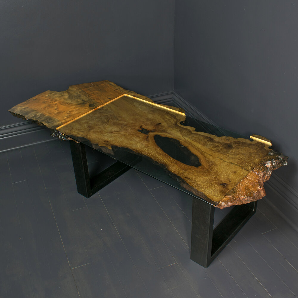 Dished Slab Coffee Table