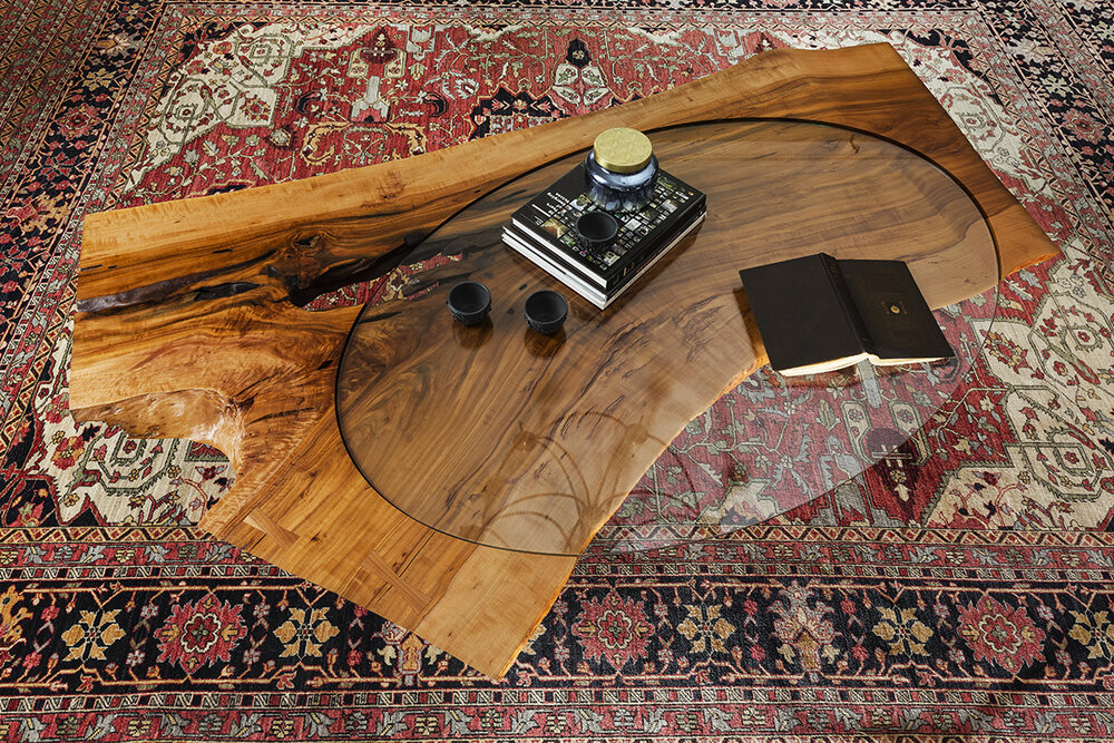 Bent Slab Table