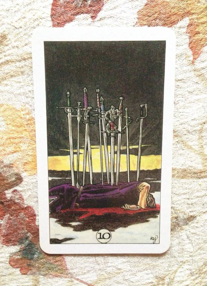Card is from the Robin Wood deck, published 2002