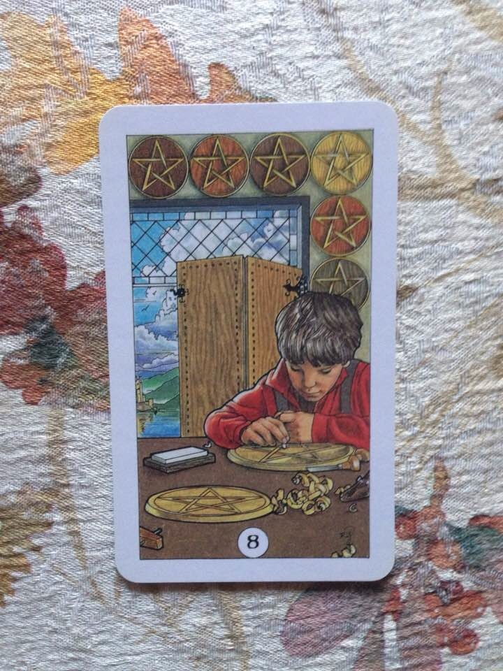 Card is from the Robin Wood deck, published 2002.