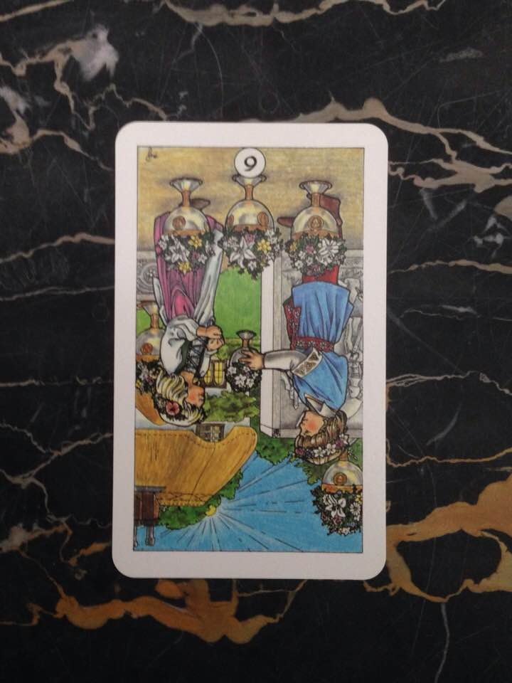 Card is from the Robin Wood deck, published in 1991.