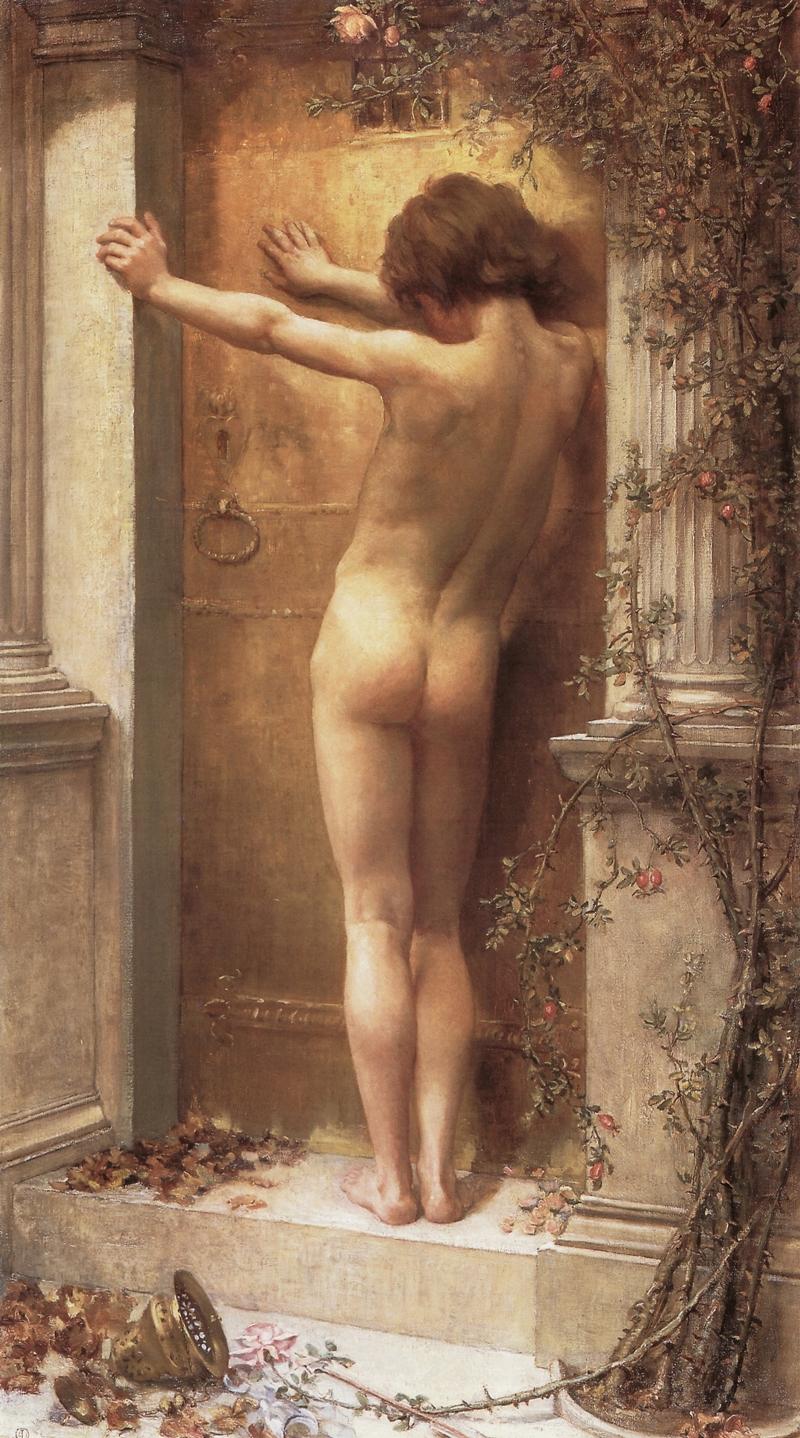 Anna Massey Lea Merritt 1844-1930 - American Pre-Raphaelite painter - Tutt'Art@.jpg