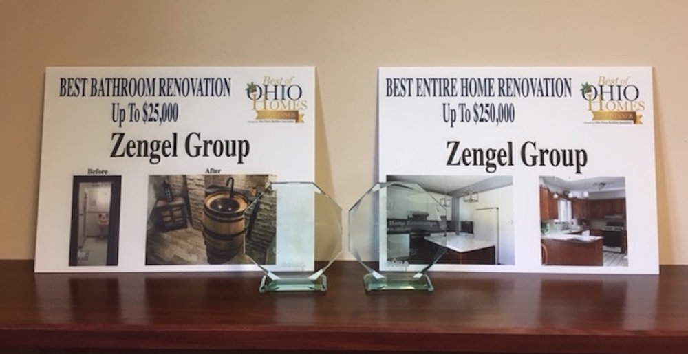 The Zengel Group received two Best of Ohio Building & Remodeling Awards.