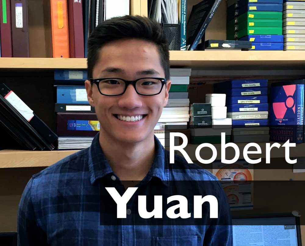 Undergraduate Intern  Robert is from Wayland, MA and is a rising Junior at UCLA, where he is majoring in Psychobiology. In his free time, he enjoys playing soccer and playing the saxophone.