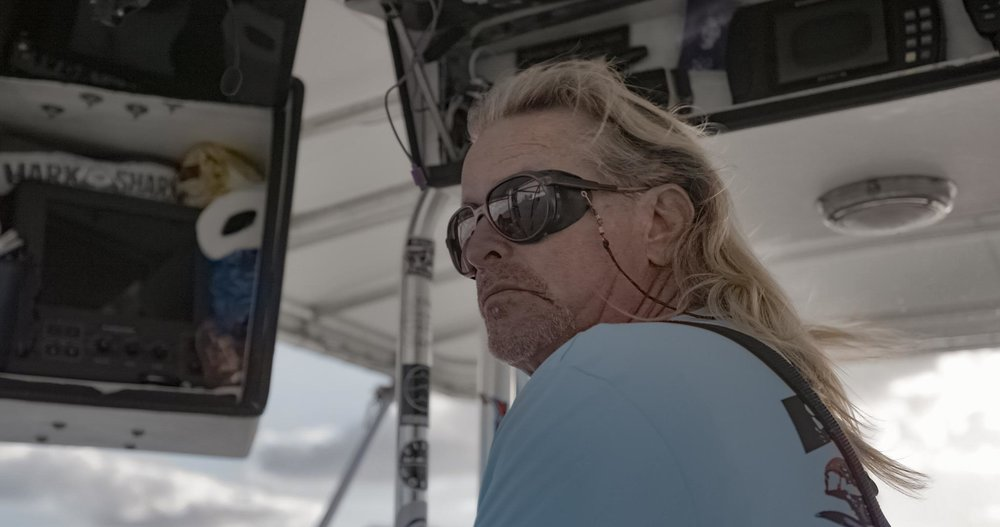 "Field Example:    Research Info   Mark ""the Shark"" ,  universally known as ""THE SHARK HUNTER"", took his passion for sport fishing and turned it into a charter business dedicated to catching the biggest of the big. He runs a daily charter where he regularly takes out high paying guests as well as celebrities out on his charter to go big fish hunting."