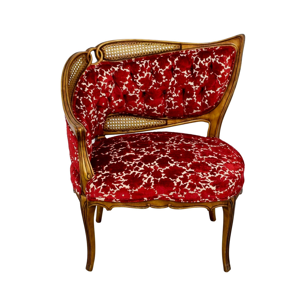 Red & Gold Chair ($15)
