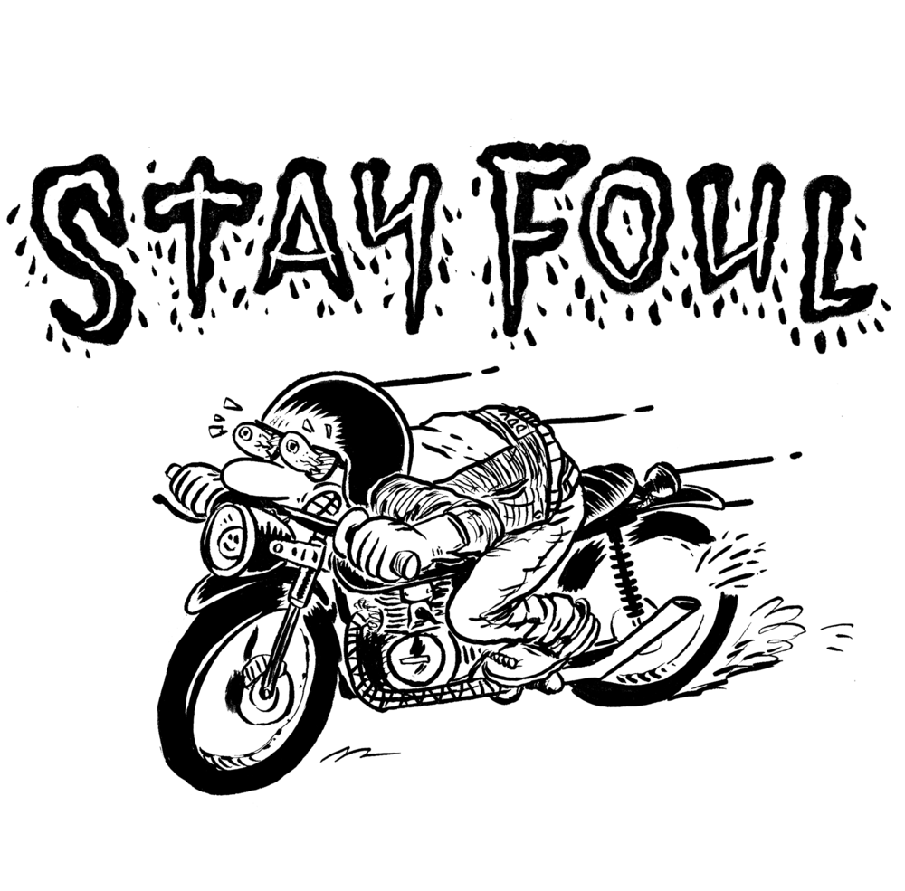 Stay Foul Shirt Graphic