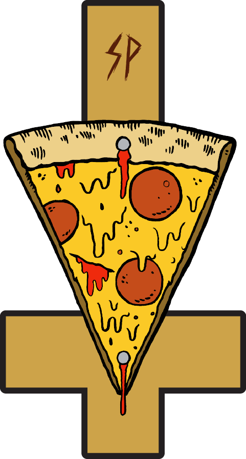 sizzle pie pizzaria patch design