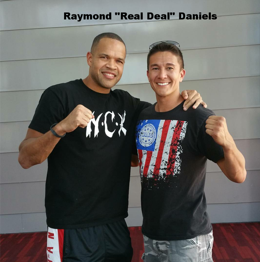 "Glory kicboxing star Raymond ""REAL DEAL"" Daniels"