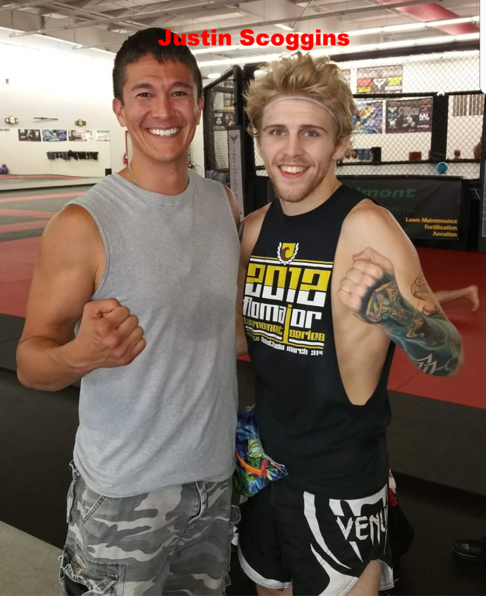 UFC Flyweight superstar JUSTIN SCOGGINS