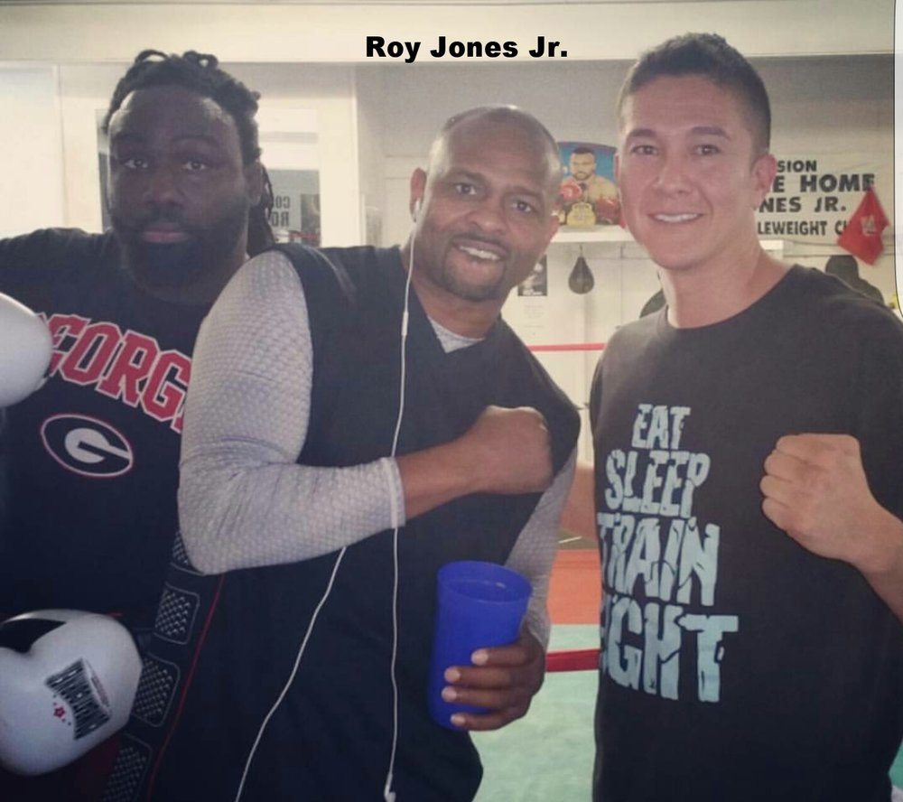 Training with Roy Jones Jr