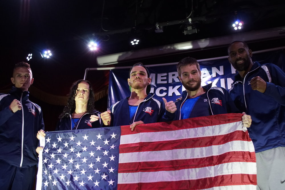 Team USA Kickboxing - Coach Adam Poore of GMMA representing Team USA in Nashville, TN vs Canada!